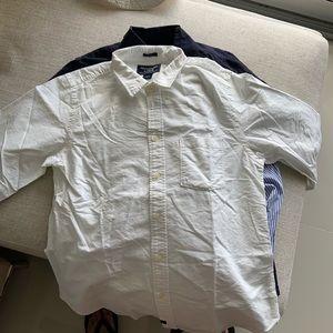 L Abercrombie white t shirt
